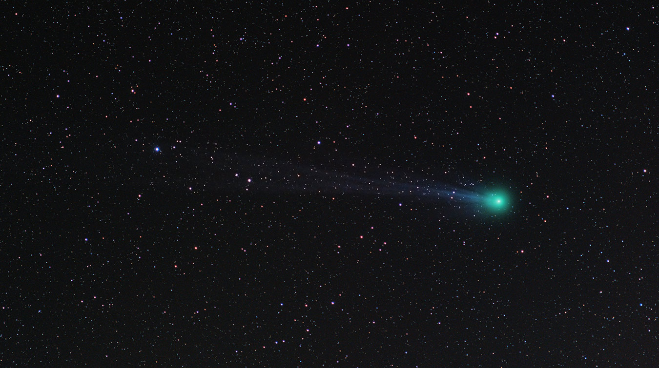 Comet Lovejoy 2015 star tracker