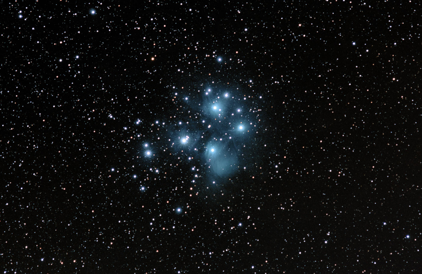 The Pleiades star tracker