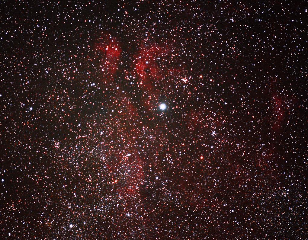 Cygnus Gamma Cygni Sadr region nebula