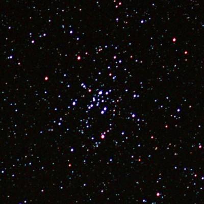 M34 open cluster in Perseus bardoor tracker