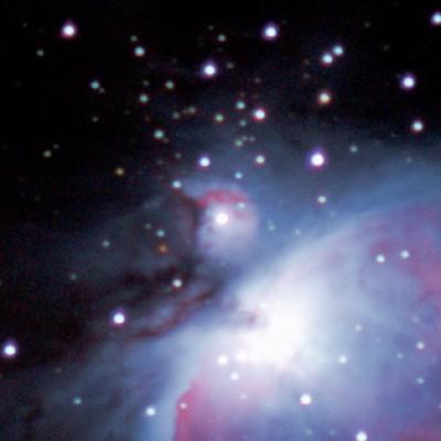 Messier M43 orion nebula