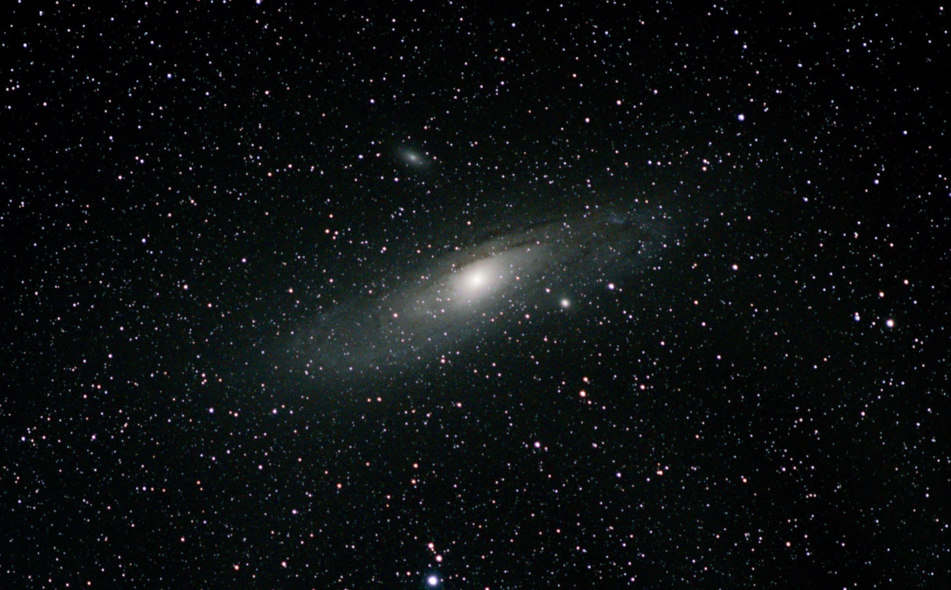 andromeda galaxy M31 barn door tracker