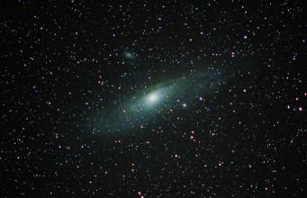 Andromeda galaxy M31 Nikon D7000
