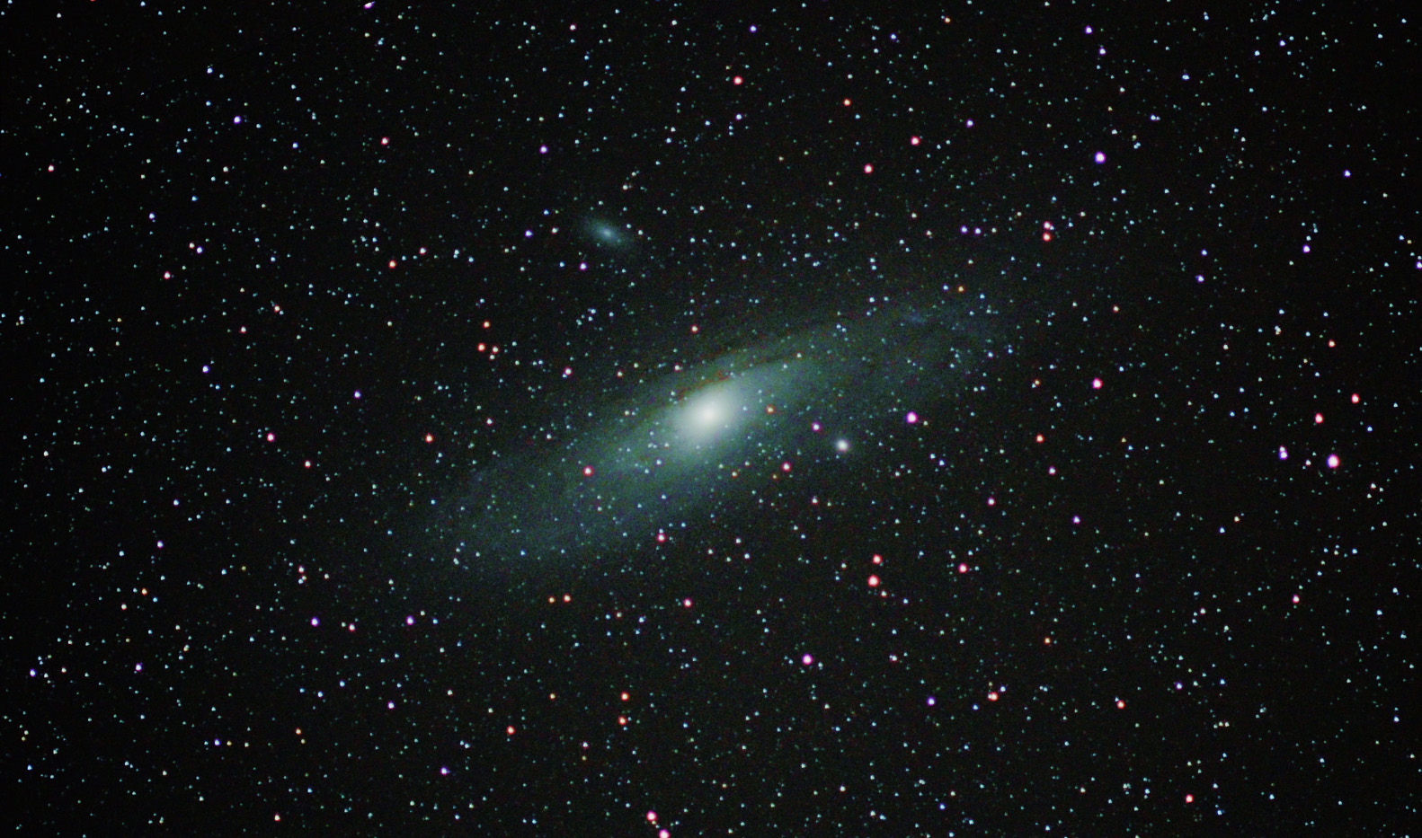 Andromeda Galaxy Astrophotography Progression