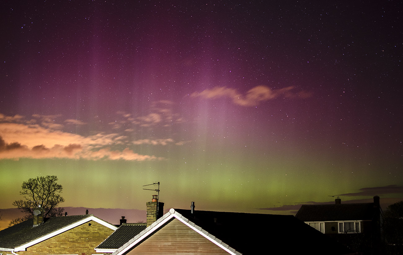 Aurora Borealis from Yorkshire, England