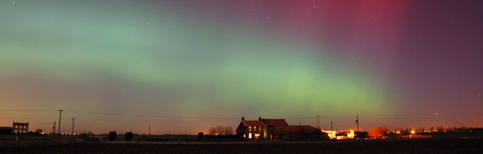 aurora in selby, yorkshire 2005