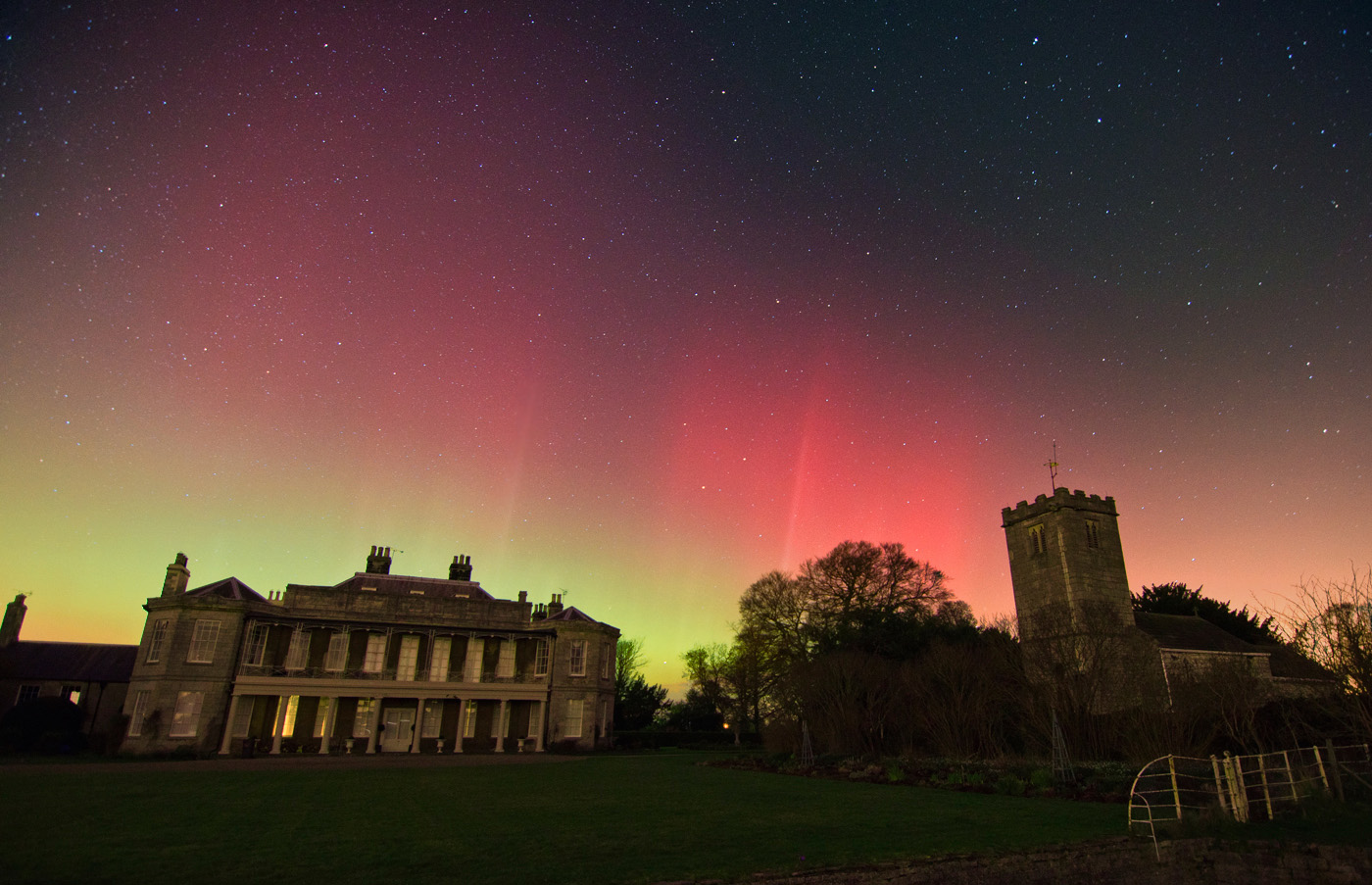 Aurora Borealis from york england 2014