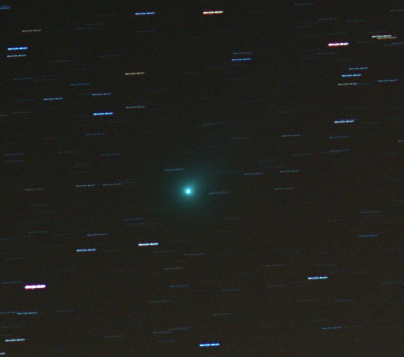 comet lovejoy C/2013 R1 barn door tracker