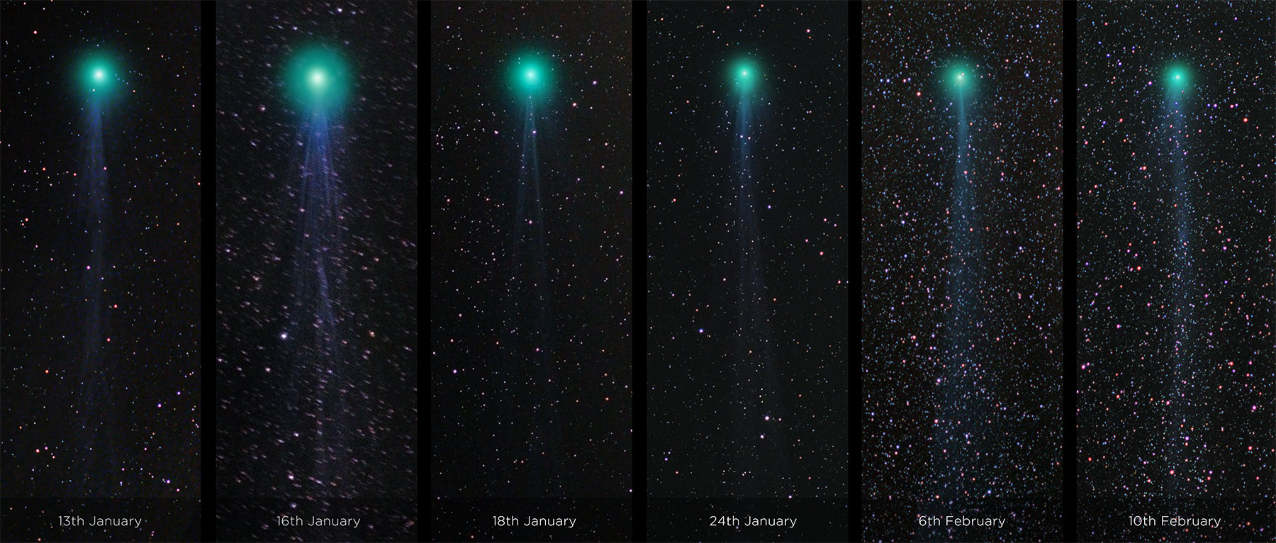 Evolution of comet Lovejoy