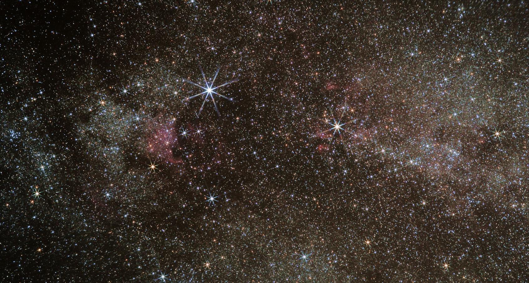Cygnus with didymium (red enhancing) filter north american nebula, pelecan nebula, butterfly nebula