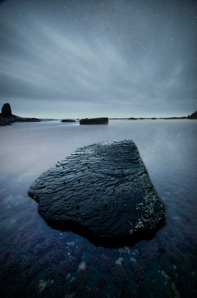 jet black mystical rock at whitby