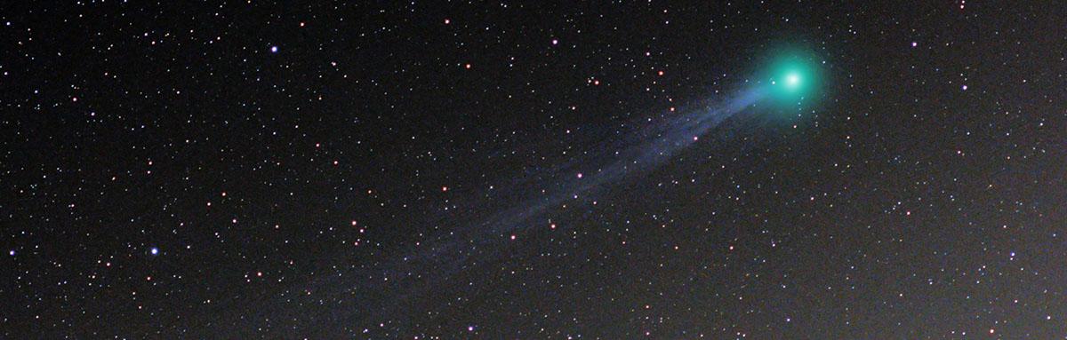 Comet Lovejoy C/2014 Q2 2015 star tracker nikon d7000 180mm f2.8