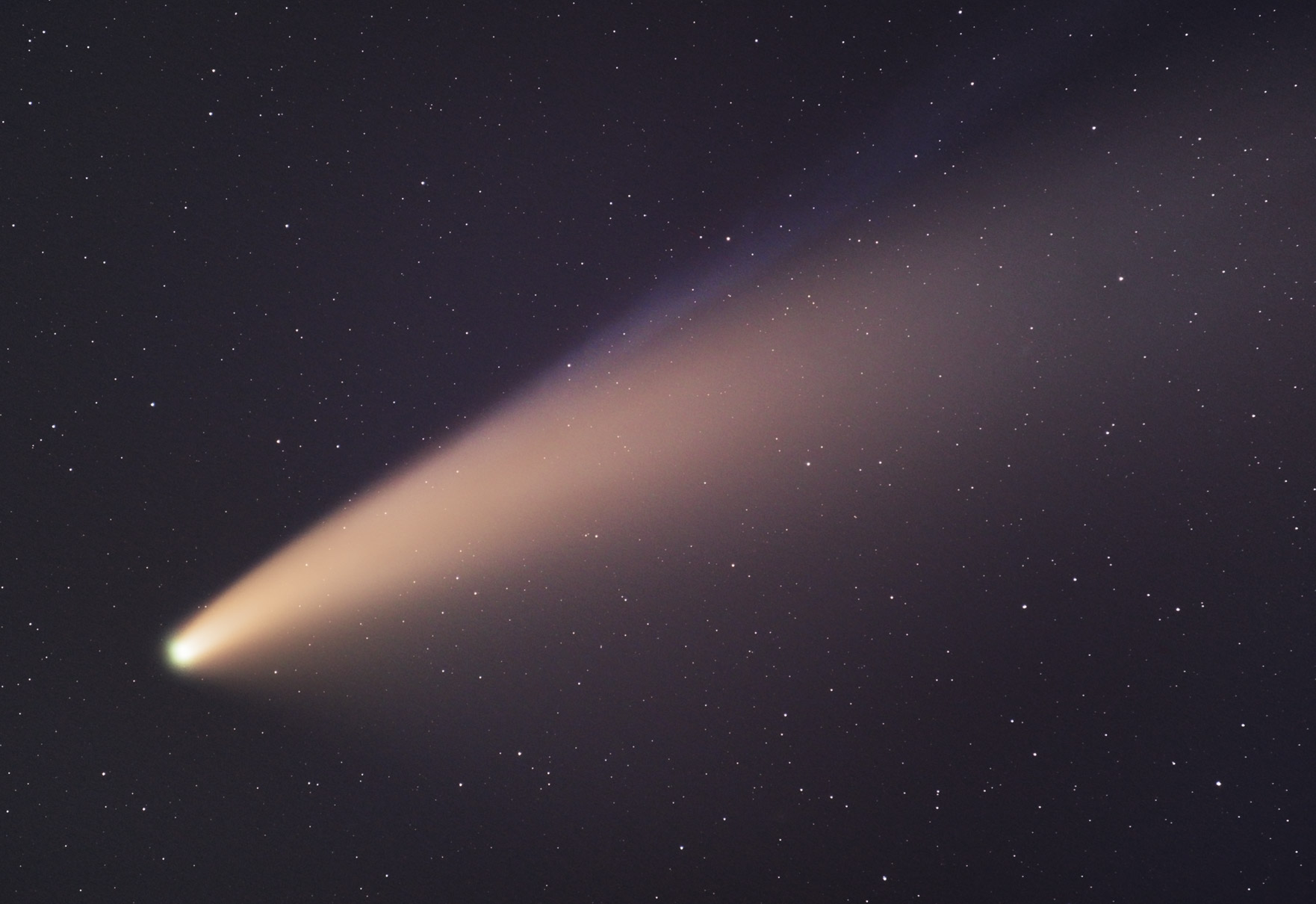 comet neowise 400mm