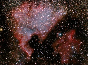 north america nebula cygnus barn door tracker