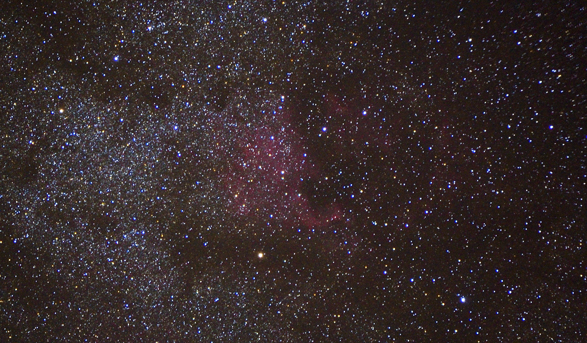 north american nebula red intensifier