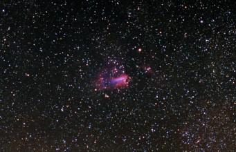 M17 omega nebula 180mm f2.8 ed
