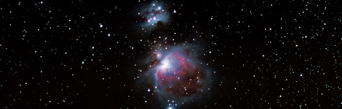 orion nebula M42 barn door tracker 180mm f2.8