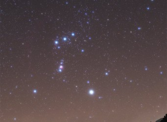 Orion over Helvellyn