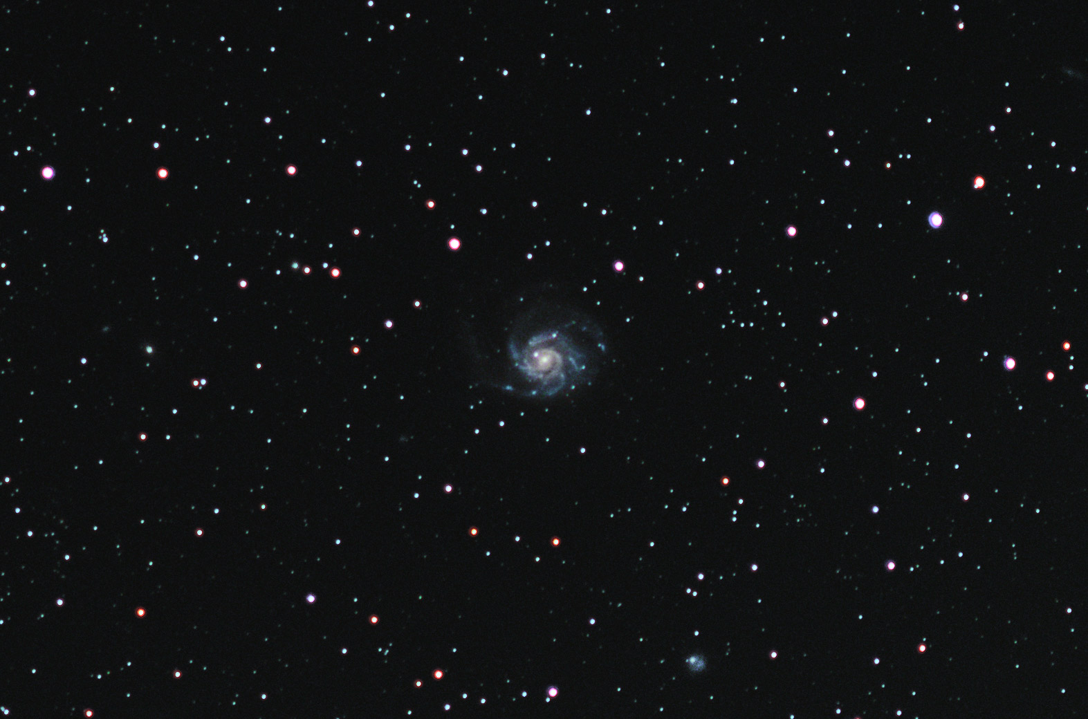 Distant giant: The Pinwheel galaxy