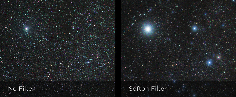 Hoya Softon A filter for astro  imaging