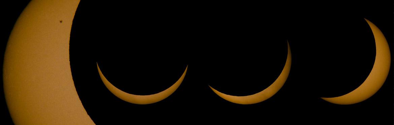 90% partial solar eclipse