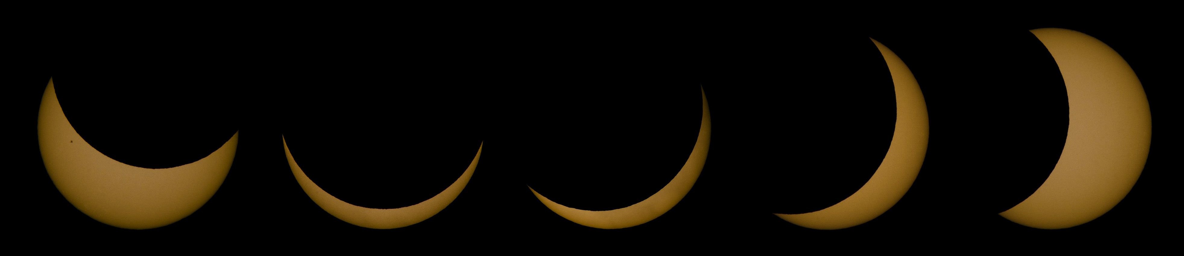 Moon transit sequence